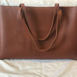 Vince Camuto leather shoulder bag